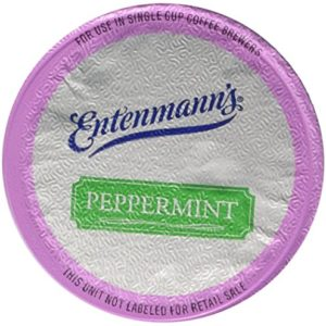 Entenmann's Peppermint Coffee Capsule/K-Cup, 2/10 ct boxes