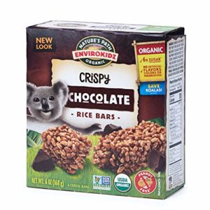 Nature's Path EnviroKidz Chocolate Crispy Rice Bars, Healthy, Organic, Gluten-Free, Peanut Free 6 Ounce Box (Pack of 6)