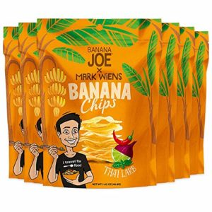 """Chips Thai Larb Flavor by Mark Wiens x Banana Joe, Gluten-Free Healthy Snacks for Adults & Kids - Vegan & Paleo Approved, - A """"Potato Chip"""" That's Good For You (Made From 100% Real Bananas)"""