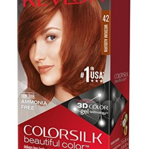 Revlon Colorsilk Haircolor, Medium Auburn, 4.40 Total Ounces (Pack of 3)