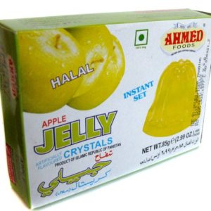 Ahmed Instant Set APPLE Jelly Crystals (Halal) - 2.99oz