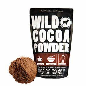 Raw Organic Cacao Powder, Handcrafted, Single-Origin, Non-Alkalized Cocoa from Peru, Heavy Metal Tested, Non-GMO, Gluten-Free, Vegan, Paleo (12 ounce)