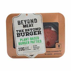 Beyond Meat Plant-based Burger Patties, 8 oz (2 Pack, 4 Patties Total)