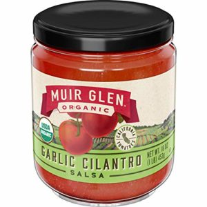 Muir Glen Organic Salsa, Garlic Cilantro, 16 oz, 12 Pack