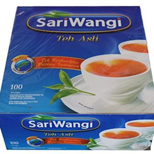 Sariwangi Teh Asli, Indonesian Tea, 1 Box 100 Teabags, Halal