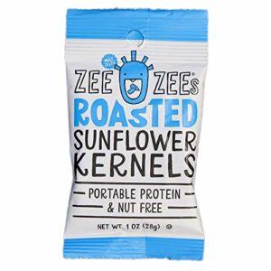 Zee Zees Roasted Salted Sunflower Kernels, Nut Free, 1 oz, 48 pack