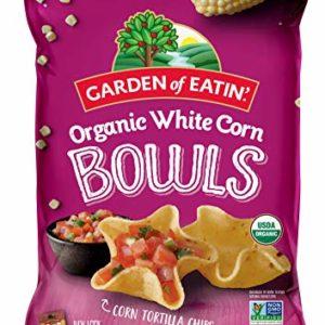 Garden of Eatin Organic White Corn Bowls Tortilla Chips, 10 oz. (Packaging May Vary)