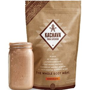 KaChava Meal Replacement Shake - A Blend of Organic Superfoods and Plant-Based Protein - The Ultimate All-In-One Whole Body Meal. (Chocolate) 960g Bag = 15 meals (64g serving size)