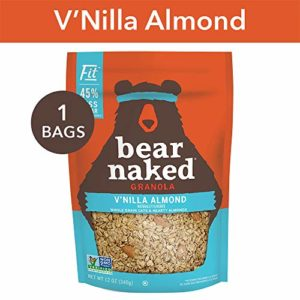 Bear Naked Vanilla Almond Fit Granola - Non-GMO | Kosher | Vegan - 12 Oz