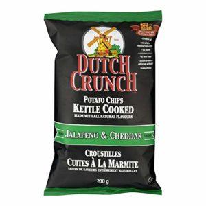 Old Dutch Dutch Crunch Kettle Chips 200g / 7oz (Jalapeno & Cheddar)