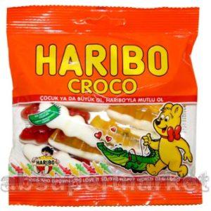 Haribo Halal Croco 100g (Aromali Karisik Yumusak Seker)