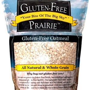 Gluten Free Prairie Oatmeal 1 Pound Certified Gluten Free, Non-GMO, All Natural, Whole Grain, Vegan, Low Glycemic, Heart Healthy, High in Protein, Fiber, and Vitamin B (Pack of 1)