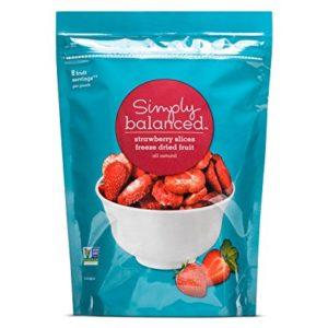 Freeze Dried Strawberry Slices - 2oz - Simply Balanced