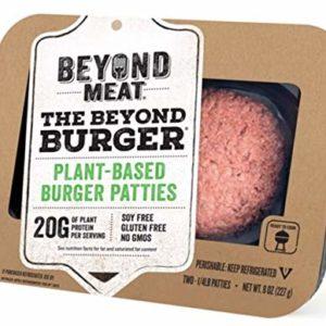 Beyond Meat Burger, World's First Plant-Based Burger, Vegan, No GMOs, Soy or Gluten , 8 Fl Oz | Pack of 8