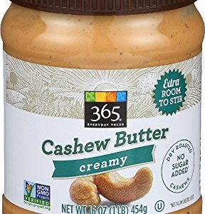 365 Everyday Value, Cashew Butter Creamy, 16 oz