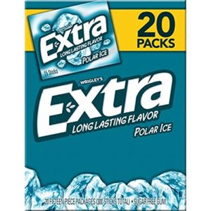 Wrigley's Extra Polar Ice Gum, 20 Pack/15 Count