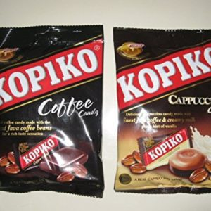 Kopiko Candy Cappuccino and Coffee Flavor 2 Bags /