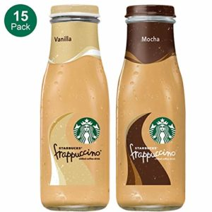 Starbucks Frappuccino, 2 Flavor Variety Pack, 9.5 Fl. Oz (15 Count)