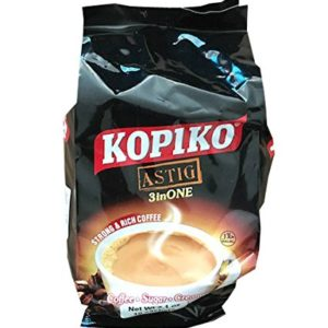 Kopiko Instant Coffee Astig 3 in 1, 7.1 oz (10 Sachets per pack) (Pack of 1)