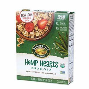 Nature's Path Hemp Hearts Granola, Healthy, Organic, 11.5-Ounce Box (Pack of 6)