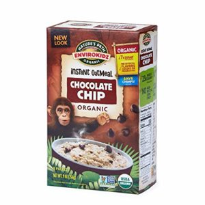 Nature's Path EnviroKidz Chocolate Chip Instant Hot Oatmeal, Healthy, Organic, Gluten-Free, 9 Ounce Box (6 Pack)