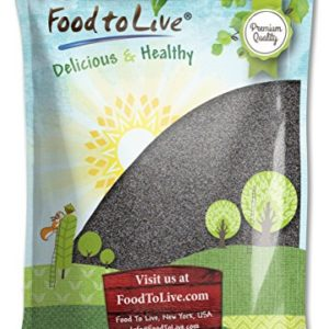 Food to Live English Poppy Seeds for Baking (Kosher) (8 Pounds)