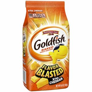 Pepperidge Farm, Goldfish, Flavorblasted, Crackers, Xtra Cheddar, 6.6 oz, bags, 6-count