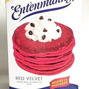Entenmanns Red Velvet Pancake & Waffle Mix - Makes 12 Pancakes 12 oz.
