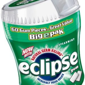 Eclipse Gum Big E Pack, Spearmint, 1 ct, 60 pieces