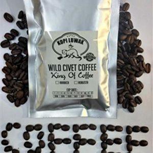 Kopi Luwak Arabica Wild Civet Coffee Whole Beans Roasted Beans