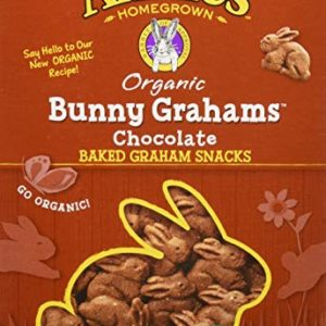 Annie's Bunny Grahams, Chocolate, Graham Snacks, 7.5 oz Box (Pack of 12