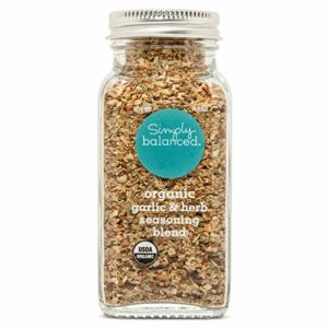 Simply Balanced Organic Garlic & Herb Seasoning Blend, 3.4 OZ (One Pack)