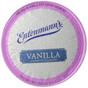Entenmann's Vanilla Capsule/K-Cup Coffee, 10 count, 3.5 oz, (Pack of 2)