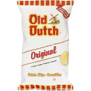 Old Dutch Original Potato Chips, One Large Bag, Imported from Canada