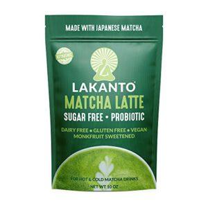 Lakanto Matcha Latte Drink, 1 Net Carb,10 Ounce