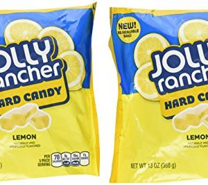 Jolly Rancher Hard Candy- Lemon, 13-Ounce (Pack of 2)