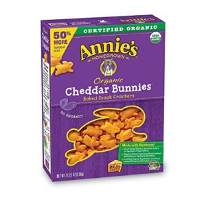 Annie's Organic Cheddar Bunnies Baked Snack Crackers, 11.25 oz
