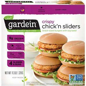 Gardein Crispy Chick n Sliders, 11 .3 Ounce -- 6 per case.