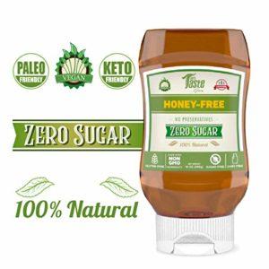Mrs Taste, Bee Free Vegan Honey, All Natural, Keto Honey, Keto Maple Syrup, Zero Sugar, High Fiber, Sugar Free Honey and Maple Syrup, Gluten Free, Non-GMO, No Preservatives (Honey-Free) (Honey-Free)