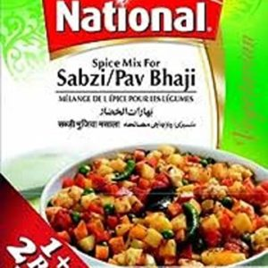 NATIONAL Sabzi/Pav Bhaji 100 g x 2 (2nd Bag Inside)
