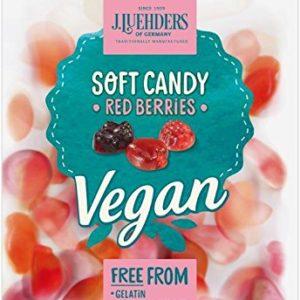 Luehders Gummi's Vegan Red Berries, 2.8 oz