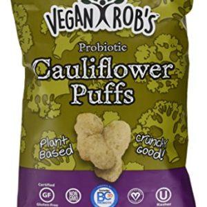 Veganrobs Puffs Cauliflower Probiotic, 3.5 oz
