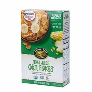 Nature's Path Fruit Juice Corn Flakes Cereal, Healthy, Organic, Gluten-Free, 10.6 Ounce Box (Pack of 6)