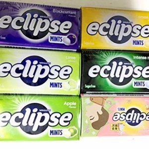 Eclipse Sugarfree Mints - 6 different taste