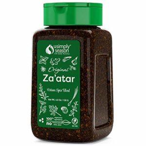 USimplySeason Zaatar Spice (Original Seasoning, 4.8 Ounce )