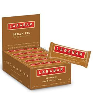LARABAR, Fruit & Nut Bar, Pecan Pie, Gluten Free, Vegan, Whole 30 Compliant, 1.6 oz Bars (16 Count)