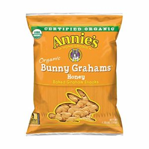 Annie's Organic Bunny Grahams Snack, Honey, 100Count