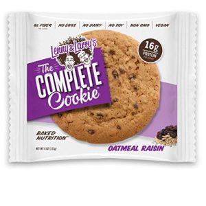Lenny & Larry's The Vegan Complete Cookie Oatmeal Raisin - 12 Cookies