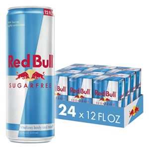 Red Bull Energy Drink, Sugar Free, 24 Pack of 12 Fl Oz, Sugarfree (6 Packs of 4)