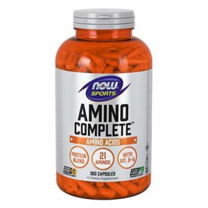NOW Sports Nutrition, Amino Complete™ with Vitamin B-6, 120 Capsules